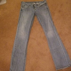 Silver brand Jean's.